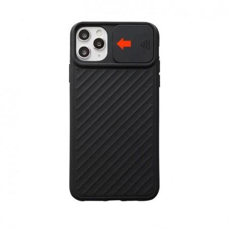 iPhone 11 pro - Coque avec Protection caméra Antichoc porte coulissante caméra