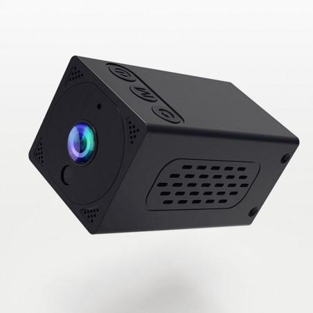 Mini Caméra Wifi HD 1080P avec batterie intégrée SQ-MINI4 (carte 32gb offerte)