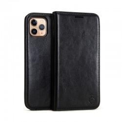 iPhone 11 Pro -Etui portefeuille support simili cuir souple fermeture magnétique -Brun