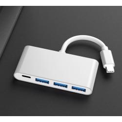Hub USB C 3 Ports USB 3.0 Adaptateur Type C pour MacBook Pro