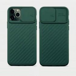 iPhone 11 pro - Coque Noire porte coulissante caméra