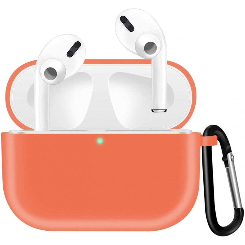 Airpods Pro Coque, Silicone Protecteur Coque ROUGE