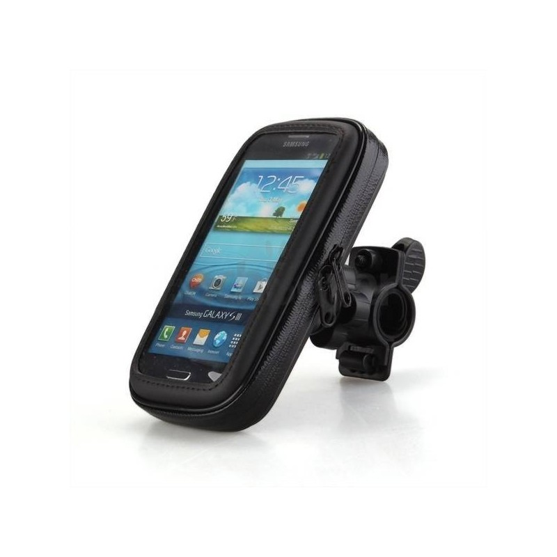 Galaxy S5, Note3/4, iPhone 6plus - housse étanche guidon