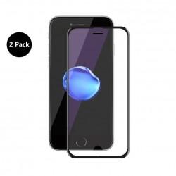 [2 pièces] Verre Trempé iPhone 8plus/7plus