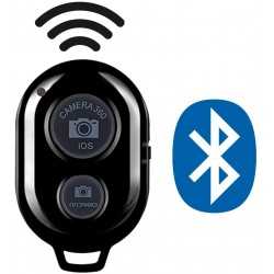 Bluetooth Téléphone Retardateur Bouton Selfie bâton déclencheur téléphone Intelligent Télécommande