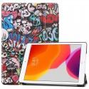 iPad 7 10.2''- étui support inclinable Stars