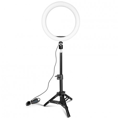 lampe avec petit trépied pour vidéo en direct beauté lampe de maquillage lampe selfie