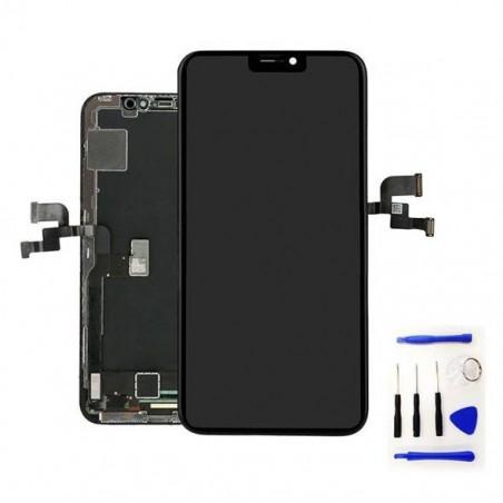 iPhone Xs Max - Ecran complet LCD noir - outils offert