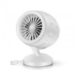 Mini Ventilateur de Bureau Portable Silencieuxdouble pales