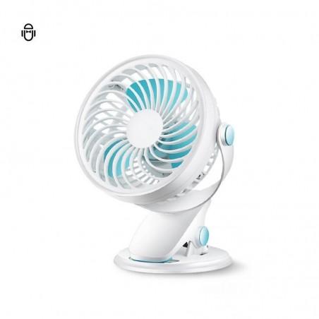 Mini Ventilateur de Bureau Portable avec la pince