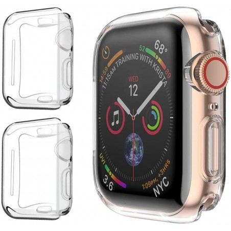Kit de 2 Coques Apple Watch 44mm Ecran Protection Apple Watch 42mm Anti-choc