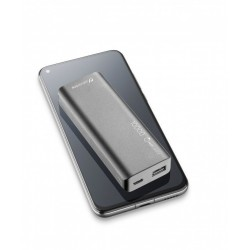 CELLULARLINE FreePower Slim 10.000, Powerbank ultra-plate, noir