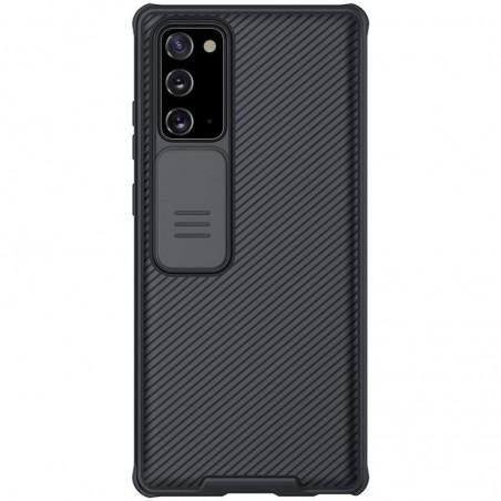 Galaxy Note 20 - coque Nillkin résistante avec protection camera