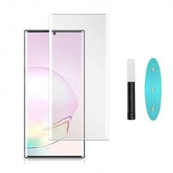 Galaxy note 20 - Protection Écran en Verre trempé de Dispersion Liquide avec Lumière UV 3D