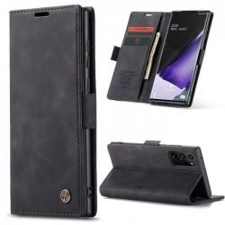 Galaxy Note 20 Ultra - étui support rétro avec pochettes