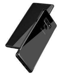 Galaxy Note 9-Coque TPU transparente Noir