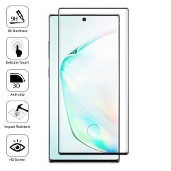 Galaxy Note 10 pro - Protection Écran en Verre trempé 3D bordure noire