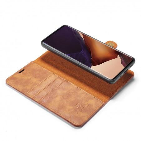 Housse portefeuille détachable Samsung Galaxy Note 20 - Cuir haut de gamme 2 en 1