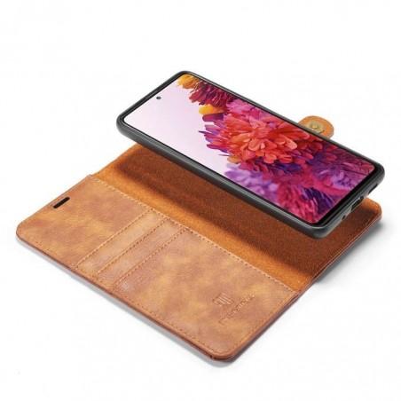 Housse portefeuille détachable Samsung Galaxy S20 plus - Cuir haut de gamme 2 en 1