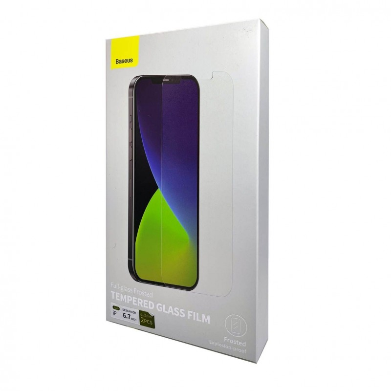 Baseus 0,3mm Tempered Glass für Apple iPhone 12 pro max