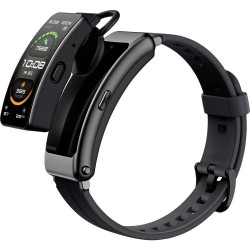 Huawei TalkBand B6 Sports Smart montre connectée détachable Noir