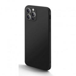 iPhone 12 pro - Coque mate silicone petit trous