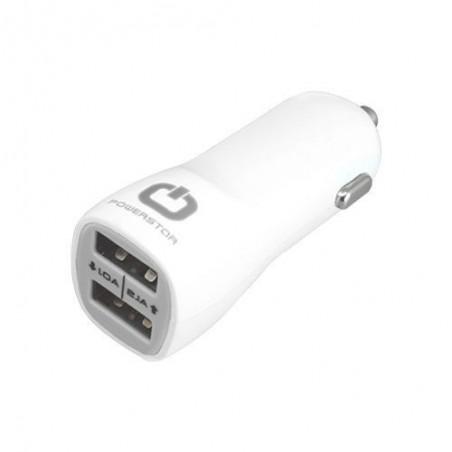 Powerstar Chargeur universel 2 port usb 2.1A pour voiture