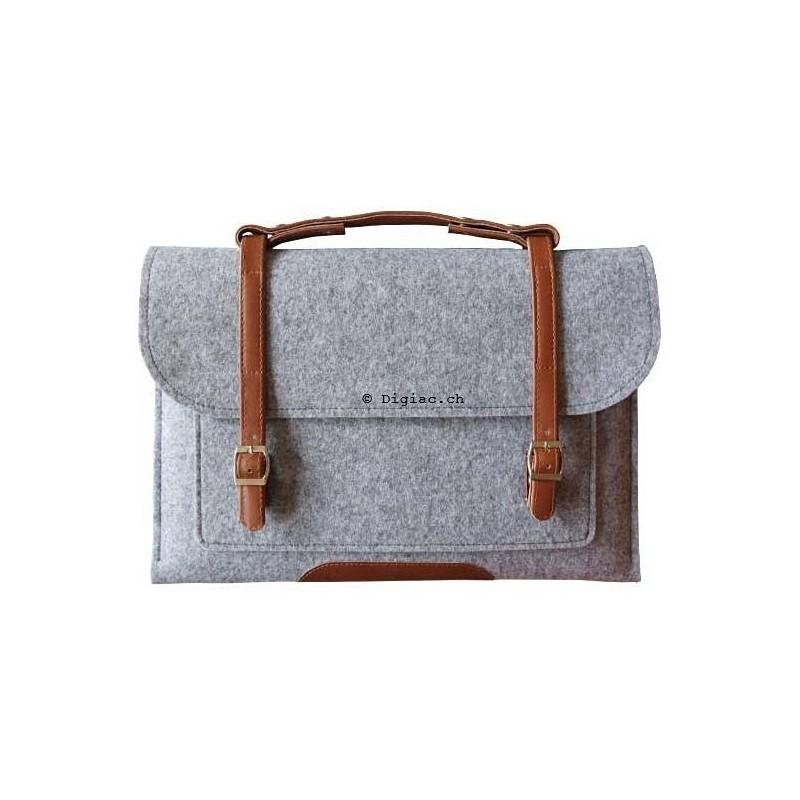 MacBook Notebook 13'' - Housse sac en laine feutre
