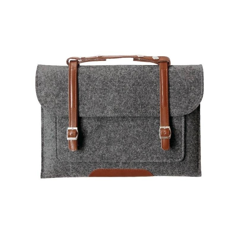MacBook Notebook 13'' - Housse sac en laine feutre