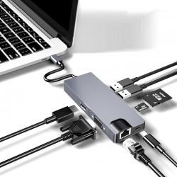 Adaptateur USB C  HUB USB C...