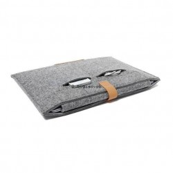 MacBook Notebook - Housse sac en laine feutre
