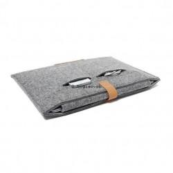 MacBook Notebook - Housse sac en laine feutre