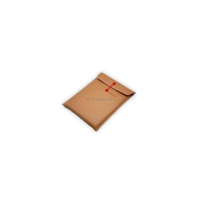 "MacBook 11''/13""/15'' - Housse sacoche ""document"" cuir PU"