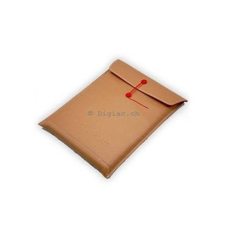 "MacBook 11''/13""/15'' - Housse sacoche ""document"" cuir PU"