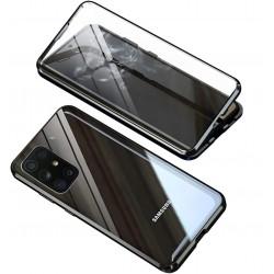 Etui lux metallique double Galaxy A72