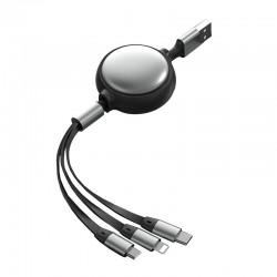 Câble de Charge rétractable...