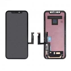 Ecran complet OLED noir pour Apple iPhone XR