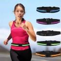 Ceinture de rangement pour course, jogging, vélo - pink