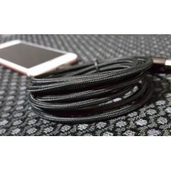 Câble lightning nylon Chargeur et Synchronisation pour iPhone en L
