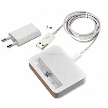 iPhone 6/6plus -Kit station d'accueil Dock 3 en 1