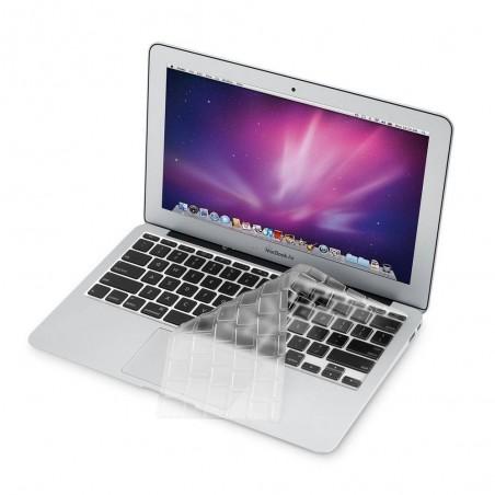 MacBook 13''/15''/17'' - Protection clavier tranparente Version Américane