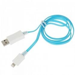 Câble USB LED synchronisation/chargement pour iPod5, iPad4, iPad air1/2, iPhone 5/5s/6/6plus