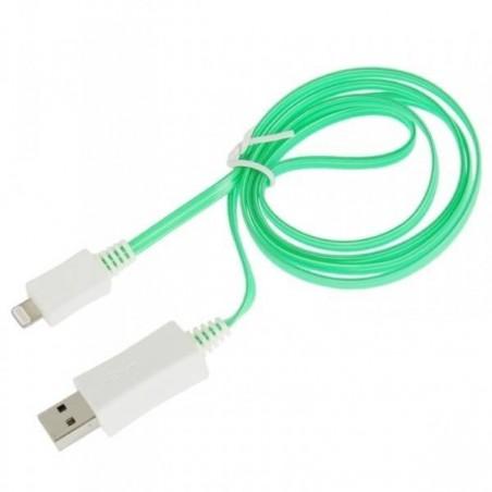 Câble USB LED lightning pour iPod5, iPad4, iPad air1/2, iPhone 7/6/5