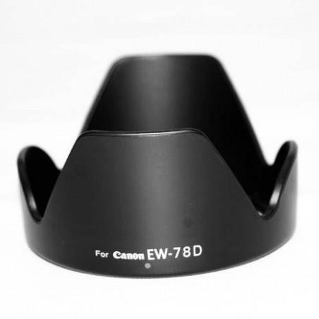 Capot d'objectif Parasoleil pour Canon EW-78D, l'objetif 18-200mm 28-200mm