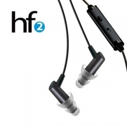 Etymotic hf2 Ecouteurs + Headset, pour Android, Blackberry, Windows, HP etc.