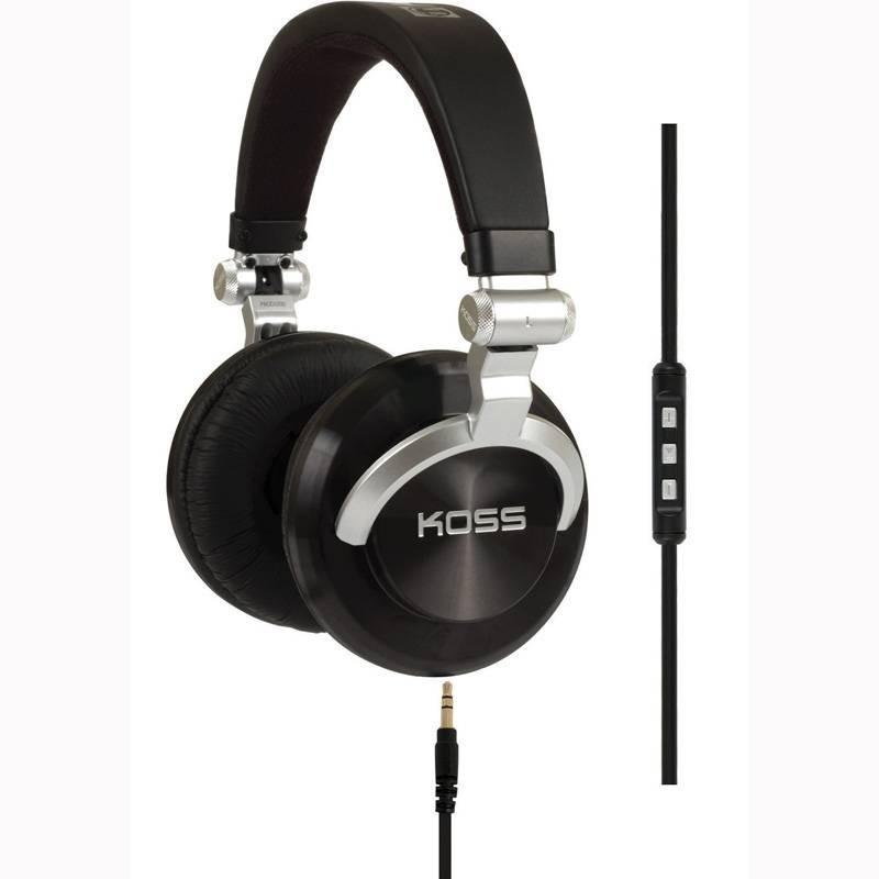 KOSS ProDJ200, écouteurs pliables et légers pour Smartphones