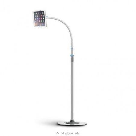 XGear - Porte-ipad de sol sur pied support tablette smartphone 4-12.9 pouces