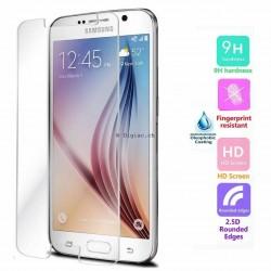 Galaxy S6 -protection écran en verre trempé clair avant ultra resistant