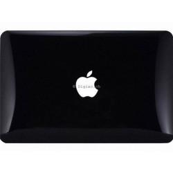 """MacBook air 13"""" - Coques Noire brillante devant et derrière"""