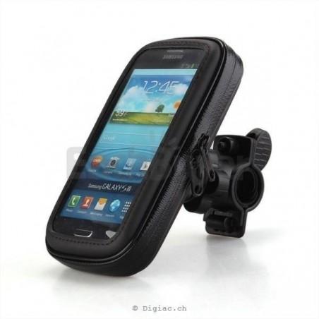 Galaxy S7/S6, iPhone 8/7/6s-housse étanche vélo moto guidon Taille M